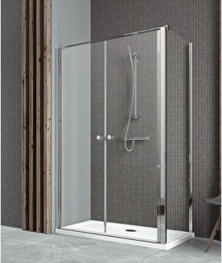 Drzwi dwuczęściowe 80cm EOS II DWD+S RADAWAY