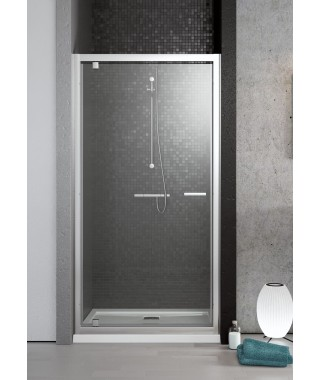 Drzwi wnękowe DW 90cm TWIST RADAWAY szkło przejrzyste