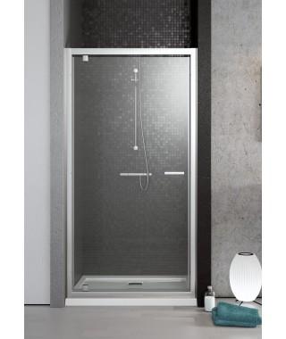 Drzwi wnękowe DW 80cm TWIST RADAWAY szkło brązowe