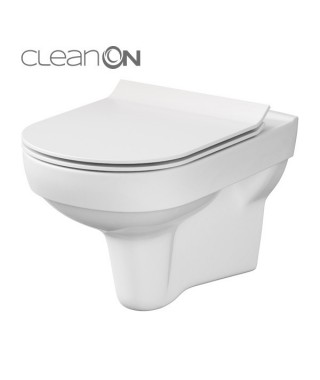 Miska wc podwieszana CERSANIT CITY OVAL NEW CleanOn