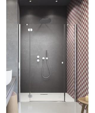 Drzwi wnękowe 120cm Carena DWJ RADAWAY lewe, szkło brązowe