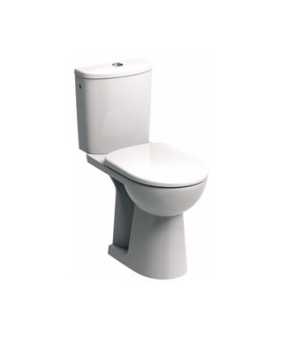 WC kompakt NOVA PRO BEZ BARIER KOŁO z odpływem poziomym. wysokość 46 cm