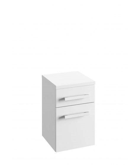 Szafka wisząca z blatem DEFRA OLEX B32 lakier biały połysk