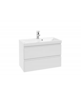 Szafka podumywalkowa DEFRA COMO D80 lakier biały połysk 123-D-08001