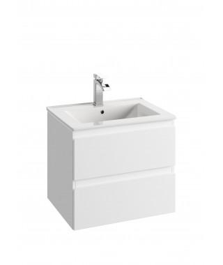 Szafka podumywalkowa DEFRA COMO D60 lakier biały połysk 124-D-06004