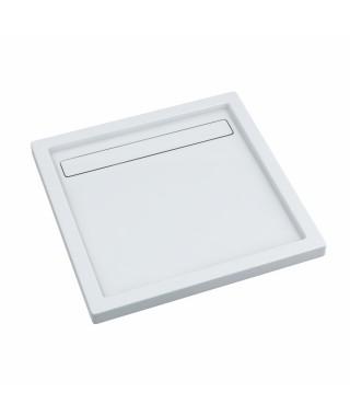 Brodzik kwadratowy 100x100x6.5/3 cm SCHEDPOL Camparo