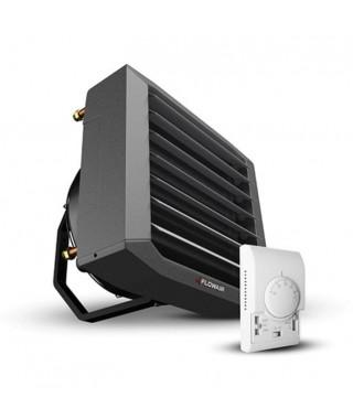 Nagrzewnica wodna FLOWAIR LEO FB 20V NEW + konsola + regulator 3w1