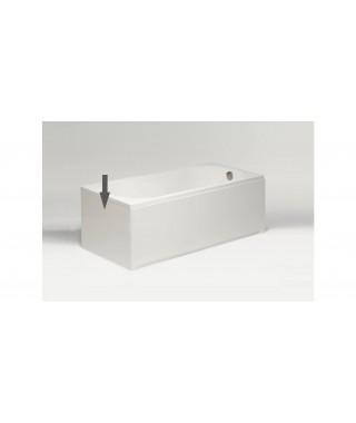 Obudowa boczna biała EXCELLENT 70x56cm do wanny prostokątnej