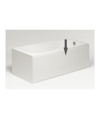 Obudowa czołowa biała EXCELLENT 160x56cm do wanny prostokątnej