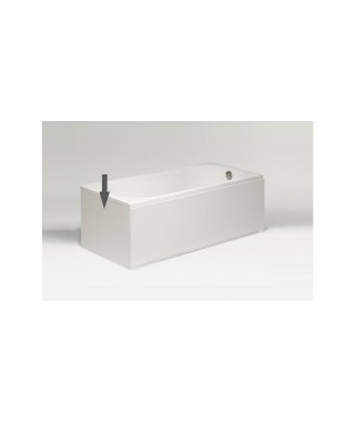 Obudowa boczna biała EXCELLENT 75x56cm do wanny prostokątnej