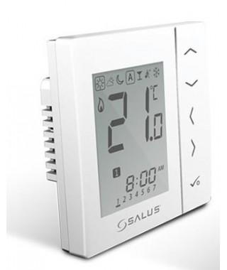 VS10WRF biały bezprzewodowy. cyfrowy regulator temperatury sieci ZigBee. 230V SALUS