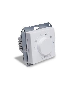 Tygodniowy przewodowy, cyfrowy regulator temperatury podtynkowy 230V SALUS BTR230(20), biały