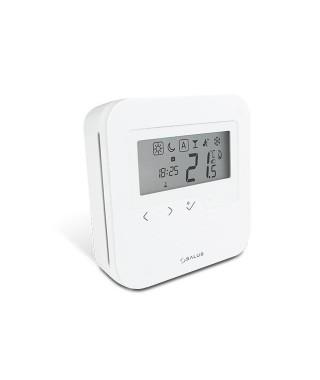 Przewodowy tygodniowy cyfrowy regulator temperatury 230V SALUS HTRP230V(50), biały