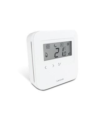 Przewodowy dobowy cyfrowy regulator temperatury 230V SALUS HTRS230V(30), biały