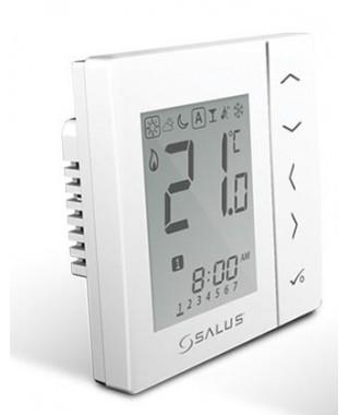 VS30W Przewodowy tygodniowy cyfrowy regulator temperatury, 230V SALUS, biały