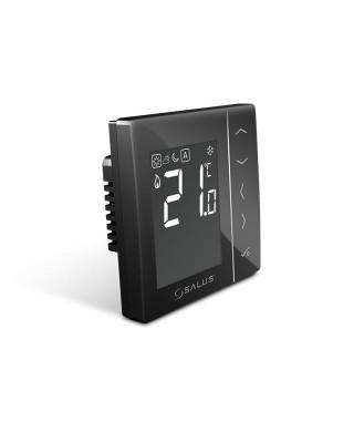 VS35B dobowy przewodowy cyfrowy regulator temperatury, 230V SALUS czarny