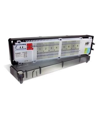 KL08NSB przewodowa listwa sterująca ogrzewaniem podłogowym - 8 stref, 230V