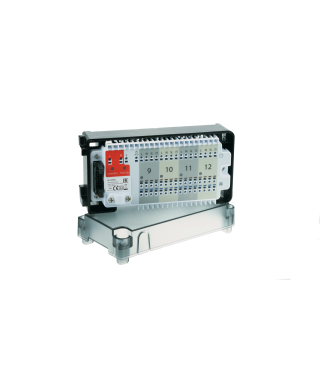 KL04NSB Moduł rozszerzający dla listwy KL08NSB - 4 strefy, 230V SALUS