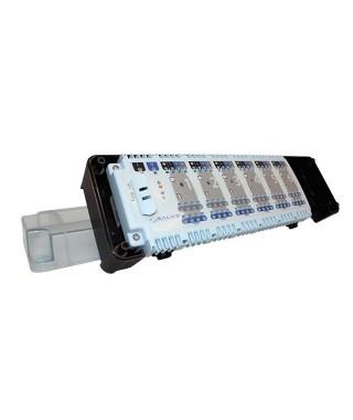 KL06 230V przewodowa listwa sterująca - 6 stref. ogrzewania podłogowego SALUS