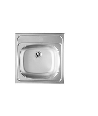 Zlewozmywak stalowy PYRAMIS INTL 50x50 1B gładki