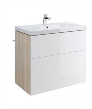 Szafka CERSANIT SMART pod umywalkę COMO 80. biały front