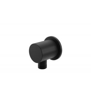 Uchwyt słuchawkowy z przyłączem wody KOHLMAN EXPERIENCE BLACK