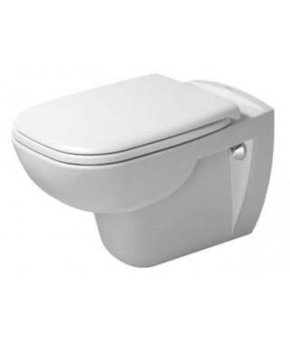 Zestaw WC z miską wiszącą D-CODE Duravit Rimless + deska wolnoopadająca