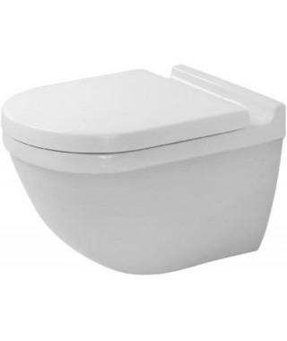 Set WC z miską wiszącą STARCK 3 Duravit Rimless + deska wolnoopadająca