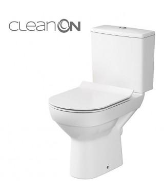 WC kompakt CERSANIT CITY 3/5L 010 poziomy z deską wolnoopadającą SLIM
