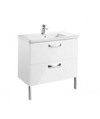 ROCA GAP ORGINAL Unik zestaw łazienkowy 80cm biały połysk A851465806