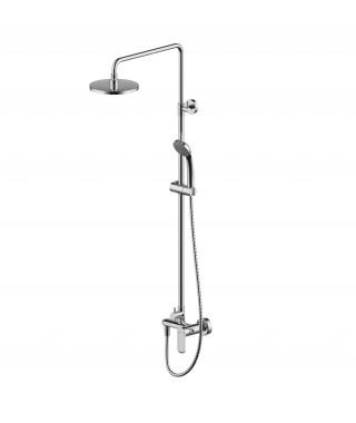Deszczownia z baterią prysznicową OPAL-C BRAVAT F9125183CP-A1-PL