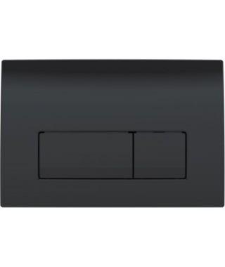 GEBERIT DELTA51 Przycisk spłukujący czarny połysk 115.105.DW.1