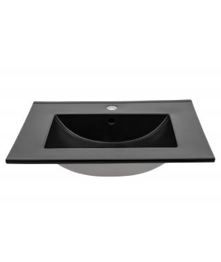 COMAD LAVA BLACK 80 umywalka meblowa ceramiczna
