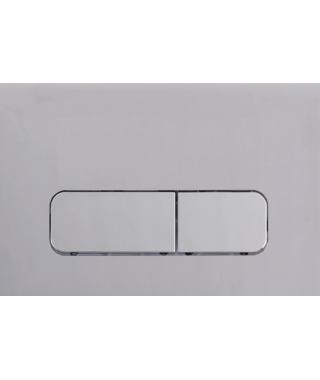 MOCHA 30 Przycisk spłukujący WC czarny mat/chrom do GEBERIT UP320 131.538.130