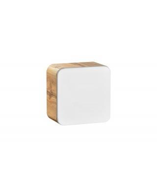 ARUBA 831 Szafka wisząca 35 1D - Dąb Craft Złoty / Biały Połysk