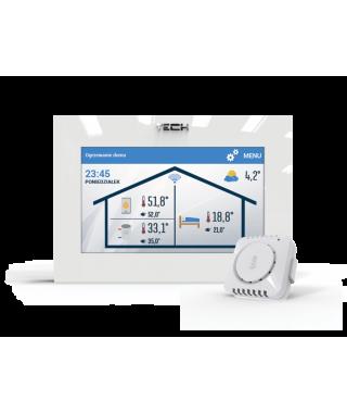 Regulator pokojowy ST-2801 wifi TECH z komunikacją OpenTherm W_2801WIFI.01.PL01.1
