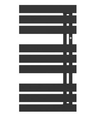 INSTAL-PROJEKT NAMELESS 50/90 grzejnik łazienkowy czarny mat C31