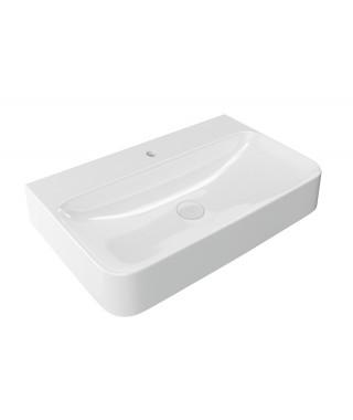 ACTIMA ORIDO 80cm umywalka nablatowa prostokątna 80x47cm CEAC.3919.805.WH