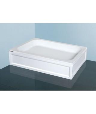 SANPLAST CLASSIC brodzik prostokątny B/CL 75x80x15cm +STB biały 615-010-0320-01-000