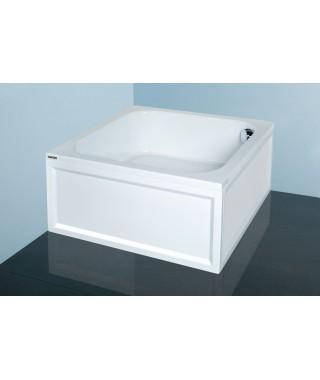 SANPLAST CLASSIC brodzik kwadratowy Bbs/CL 90x90x28+STB biały 615-010-0230-01-000