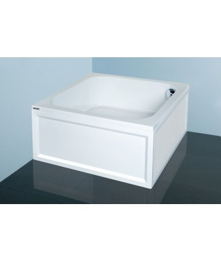 SANPLAST CLASSIC brodzik kwadratowy Bbs/CL 80x80x28+STB biały 615-010-0220-01-000