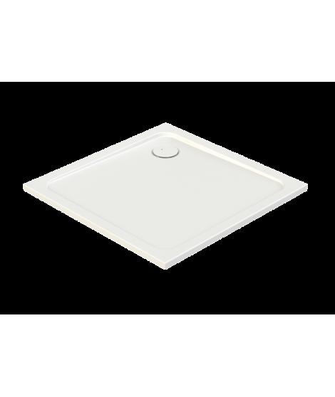 SANPLAST FREE LINE brodzik kwadratowy B/FREE 90x90x2.5+STB biały 615-040-4030-01-000