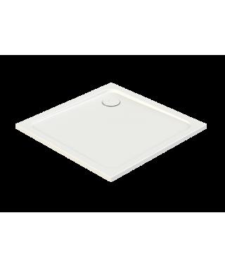 SANPLAST FREE LINE brodzik kwadratowy B/FREE 80x80x2.5+STB biały 615-040-4020-01-000
