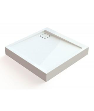 SANPLAST obudowa do brodzika OBL 90x90x12.5cm biały 625-401-1030-01-000