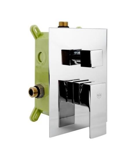 KFA Hexa chrom bateria wannowo-prysznicowa podtynkowa 3-drożna 4029-411-00