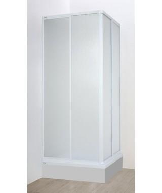 SANPLAST EKOPLUS kabina kwadratowa 90x90x175cm szyba polistyrenowa 600-130-0030-01-520
