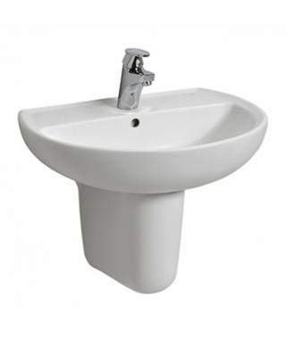 KOŁO REKORD Umywalka 60cm z otworem i z przelewem K91160000
