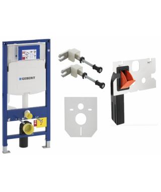Element montażowy do WC GEBERIT Duofix UP320 + wsporniki + pojemnik na kostki + mata