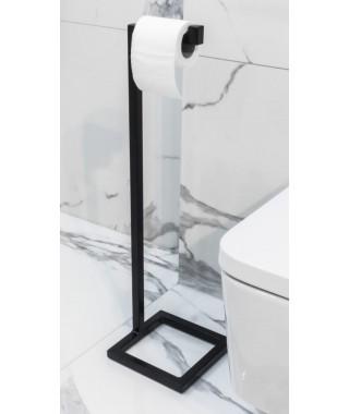 LAVITA Panay stojak na papier toaletowy czarny mat 5908211470344