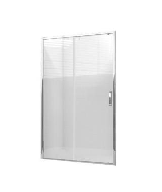 Drzwi prysznicowe 140X190cm szkło przezroczyste OMNIRES CHELSEA NDP14X
